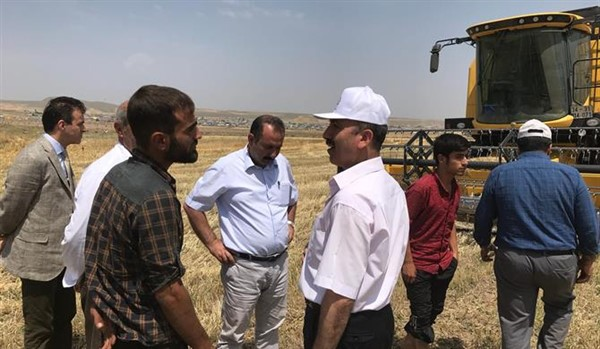 Müdür Düzgün'ün köy ziyaretleri devam ediyor