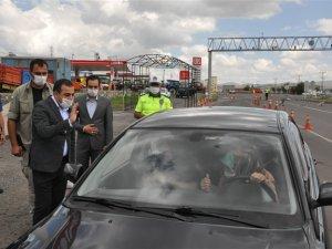 Vali Öksüz, güvenlik güçleri ile bayramlaştı