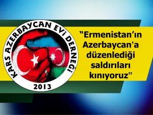 """""""Ermenistan'ın Azerbaycan'a düzenlediği saldırıları kınıyoruz"""""""