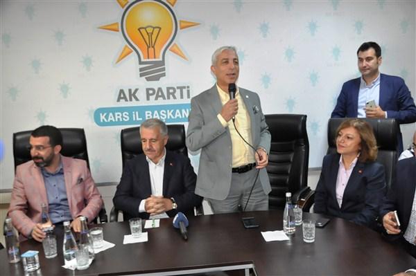 """Kılıç: """"Artık Kars'ın Ankara'da bir beyni var"""""""