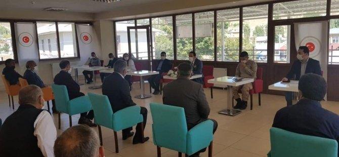 Digor'da salgınla mücadele toplantısı yapıldı