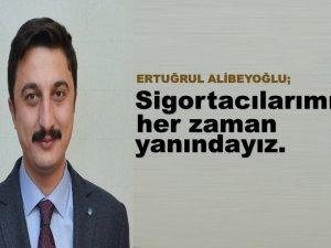 """Alibeyoğlu, """"Türkiye'de sigortacılık gelişmeye açık bir sektördür"""""""