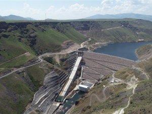 Karakurt Barajınıngeçici kabulü yapıldı