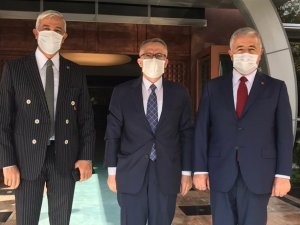 Kars Milletvekilleri Arslan ve Kılıç, önemli projeler için Ankara'da temasta