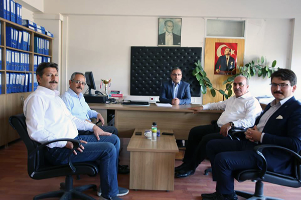 Kars DSİ, Muhasebe Müdürü Burhan Umurbek görevine başladı