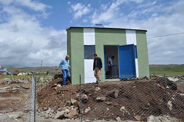 Arpaçay Kaymakamı Abdil Koç, su projelerini inceledi