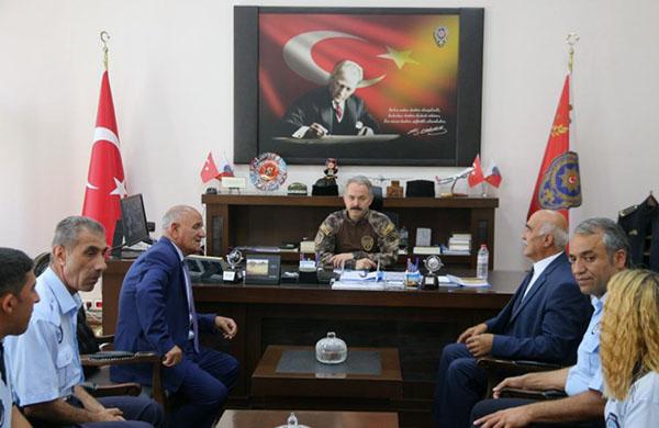Emniyet Müdürü Ümit Bitirik'e Zabıta Haftası ziyareti