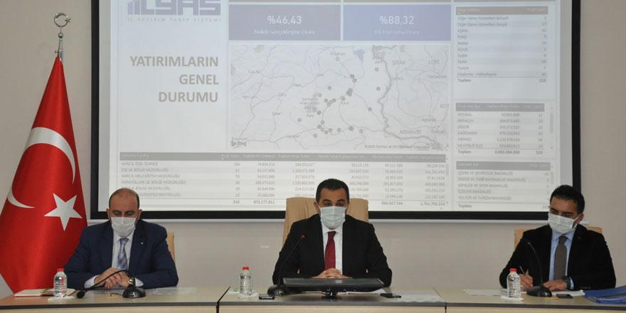 2021 yılının ilk koordinasyon kurulu toplantısı yapıldı