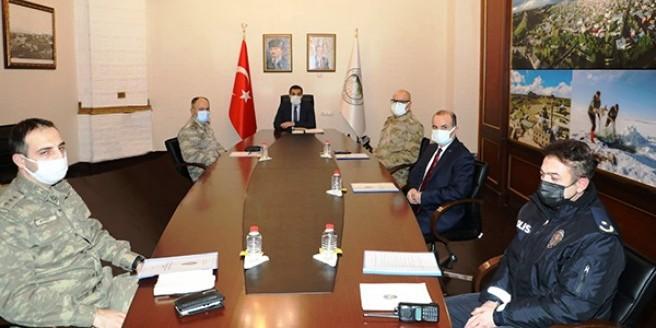 İl Koruma Komisyon Toplantısı yapıldı