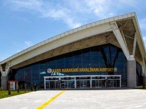 Kars Harakani Havalimanını 2020 yılında 370 bin 97 yolcu kullandı