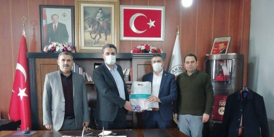 Başkan Ergüder Toptaş'a sağlık çalışanlarından teşekkür