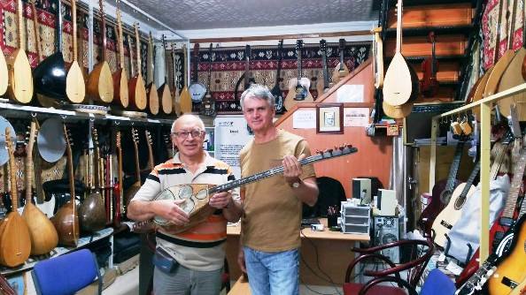 Salih Şahin, Kanada Büyükelçisi Cooter'a Kars'ın müzik kültürünü anlattı