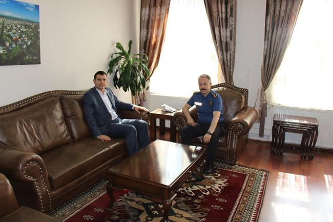 Vali Yardımcısı Aydın'dan, İl Emniyet Müdürü Bitirik'e veda ziyareti