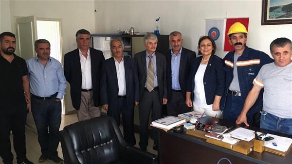 Dr. Şevkin, Kars'ta heyet başkanı olarak çalışma yaptı