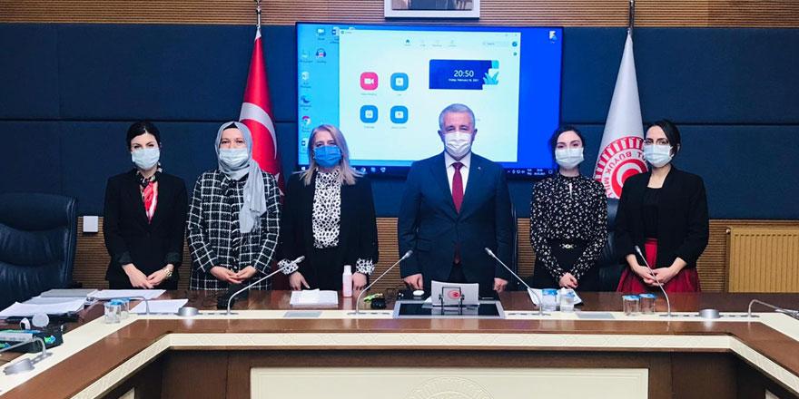 Arslan, AGİT PA toplantısında Türkiye adına konuştu