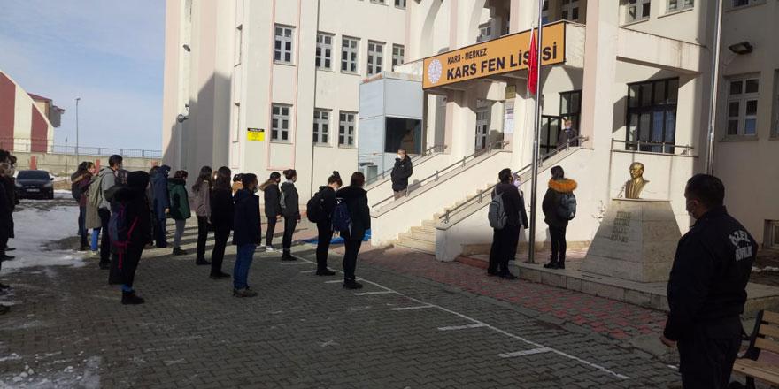 Kars'ta 66 bin 214 öğrenci eğitime başladı