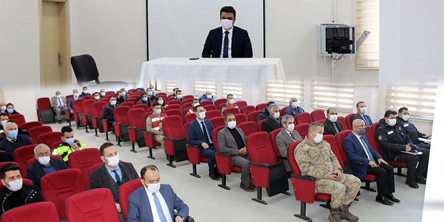 """Selim'de """"Dinamik Denetim Modeli"""" toplantısı"""