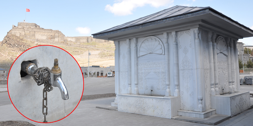 Kars'ta musluk başlıklarını kim kırdı?