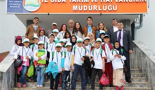 """Kars'ta """"Lider Çocuk Tarım Kampı"""" etkinlikleri başarıyla tamamlandı"""