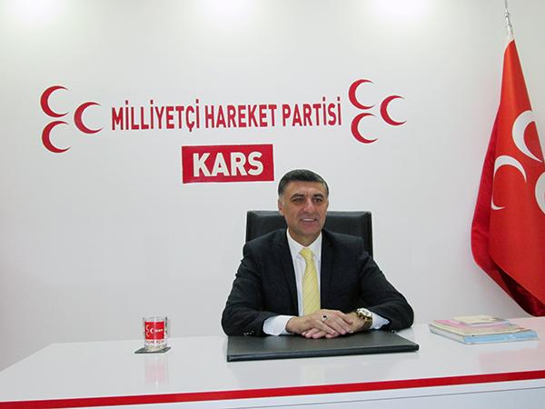 Karslı işadamı Çetin Nazik, MHP Kars Belediye Başkan aday Adaylığını açıkladı