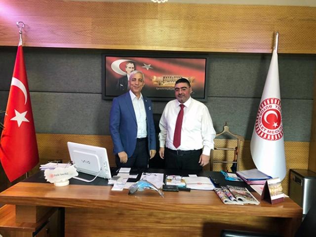 KKDGC Başkanı Daşdelen, AK Parti Kars Milletvekili Kılıç'ı ziyaret etti