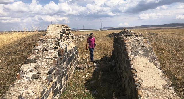 Gaziler Tabya'nın kalıntıları da yok olmak üzere