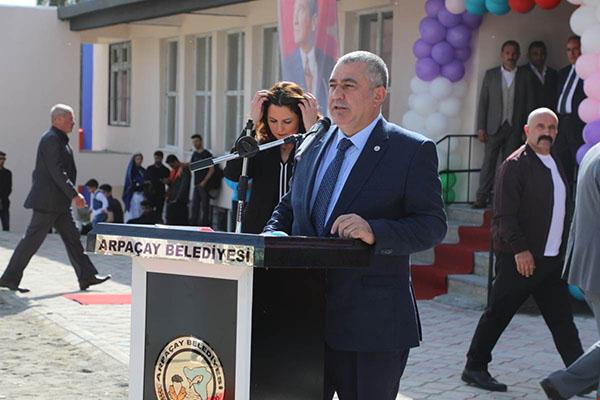 Arpaçay Erkan Koçali Kız Öğrenci Yurdu açıldı