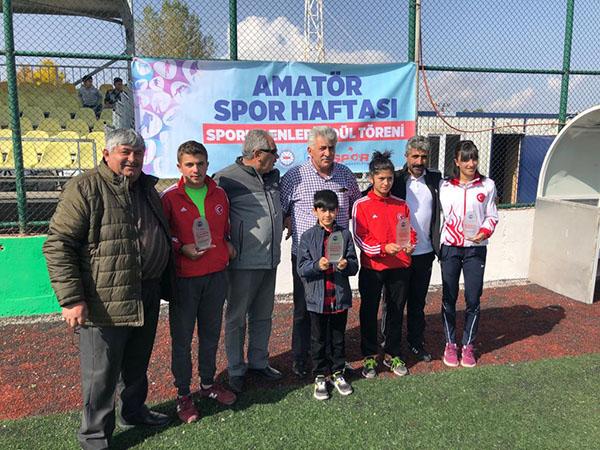 Amatör spor haftası yılın enleri ödül töreni yapıldı