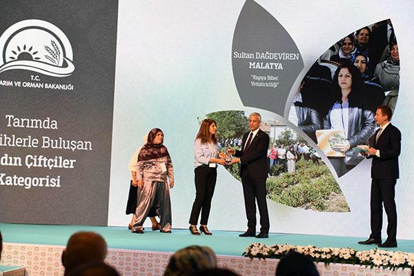"""Milletvekili Kılıç, """"Girişimci Kadın Çiftçiler Ödül Töreni""""ne katıldı"""
