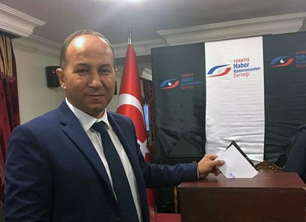 Türkiye Haber Kameramanları Derneği Başkanı Aytekin Polatel güven tazeledi