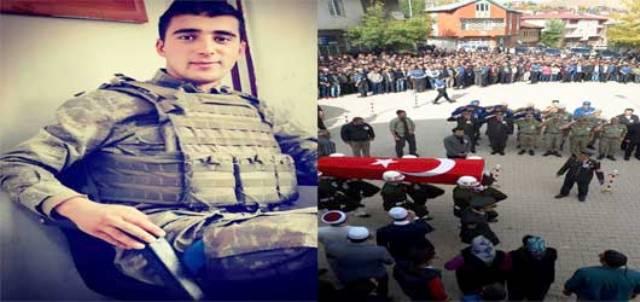 Sarıkamış'ta kaza kurşunuyla şehit olan asker Adana'da toprağa verildi