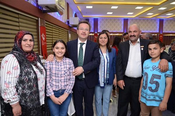 Iğdır'da şehit aileleri ve gaziler onuruna iftar