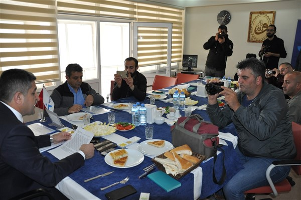 Müdür Bulut, İŞKUR'un 10 aylık faaliyetleri gazetecilere anlattı