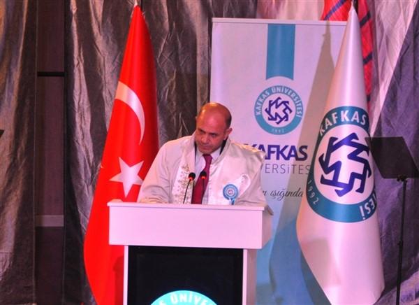 Rektör Özcan Kafkas Üniversitesi, 26 yılda büyük gelişme kaydetti