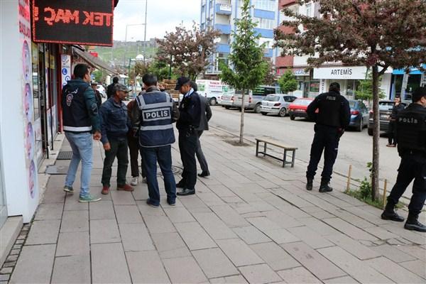 Asayiş Huzur Uygulamasında bin 118 şahıs sorgulandı