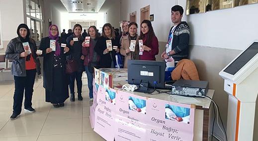 AK Parti Kars Kadın Kolları organ bağışında bulundu