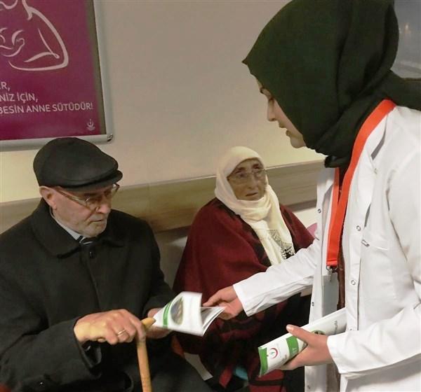 Kars'ta aileler diyabet konusunda bilimsel veriler çerçevesinde bilgilendirildi
