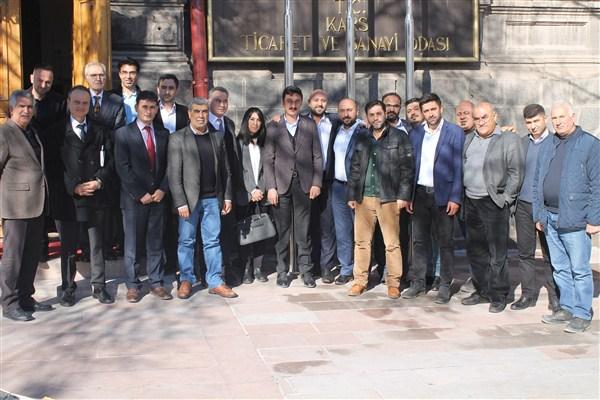 Alibeyoğlu, turizmcilere ortak tavır alma sözü verdi