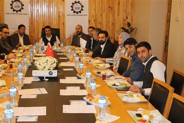 Başkan Alibeyoğlu cafe, restoran ve lokanta işletmecileri ile bir araya geldi