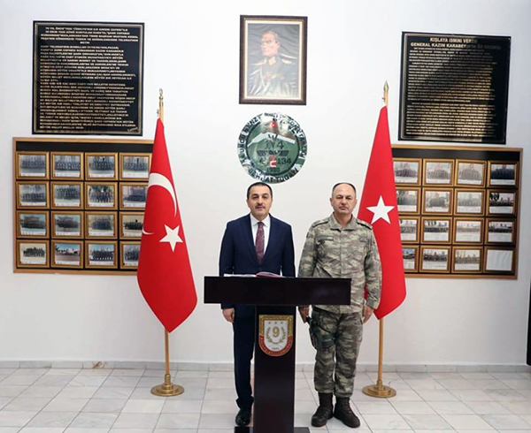 Kars Valisi Türker Öksüz'den 14. Mekanize Piyade Tugay Komutanlığına ziyaret