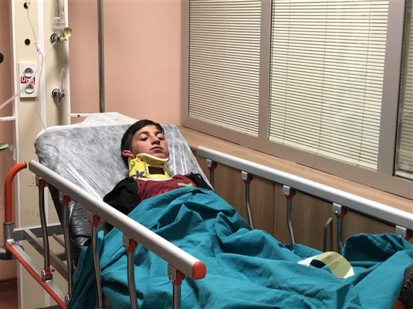 Kars'ta trafik kazası 13 yaralı