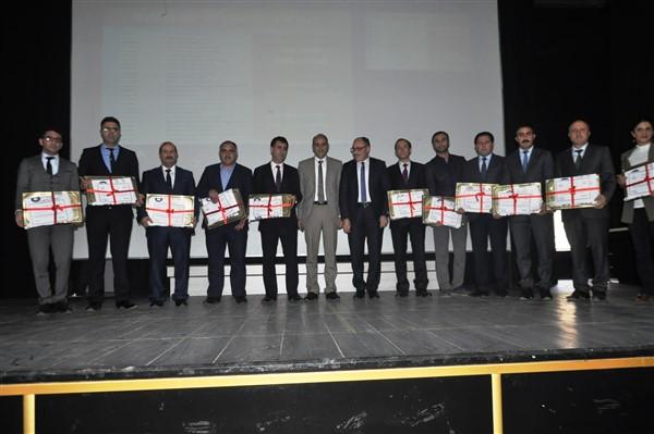 Beyaz Bayrak kazanan okullara sertifikaları verildi