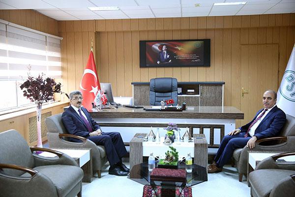 Ardahan Valisi Bilmez'den, DSİ Kars 24. Bölge Müdürlüğüne ziyaret