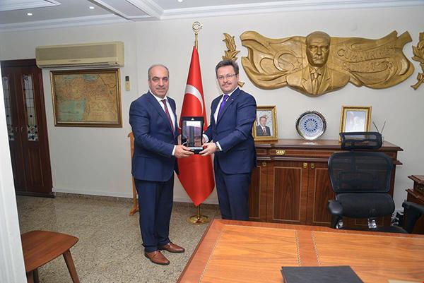 DSİ Kars 24. Bölge Müdürü Dündar'dan Vali Ünlü'ye ziyaret