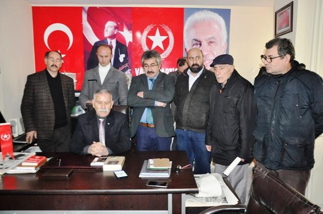 Vatan Partisi'nin Kars adayı Tuncay Mutluer