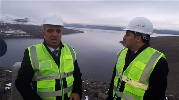 """Vali Öksüz: """"Kars Barajı, her yıl 92 Milyon TL gelir sağlayacak"""""""
