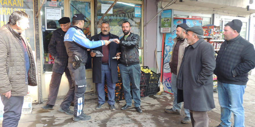 """Kars polisi """"Sessiz Katil""""e karşı vatandaşları uyardı"""