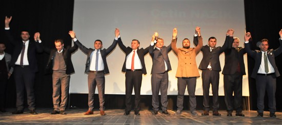 MHP Belediye Başkan Adayı Çetin Nazik, Kars'ta