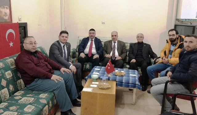 DSİ 24. Bölge Müdürü Dündar, Gazeteciler Cemiyetini ziyaret etti