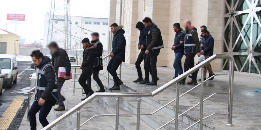 Kars'ta 207 bin TL'lik malzeme çalan şahıslar yakalandı